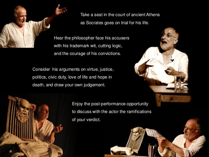 platos apology of socrates Plato's apology of socrates translated by james redfield [17a] i don't know how you felt about the prosecution, gentlemen as for me i almost forgot myself, their speech was so convincing.