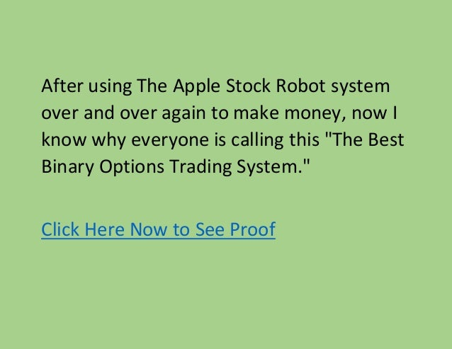 Apple stock binary options