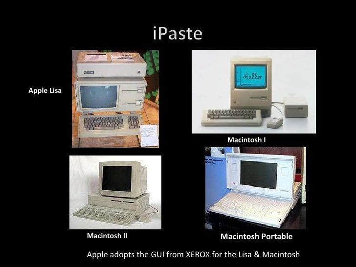 Apple Lisa                                                      Macintosh I                  Macintosh II                 ...