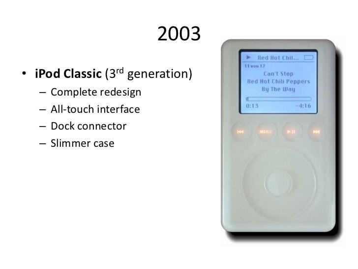 Ipod Classic Generations