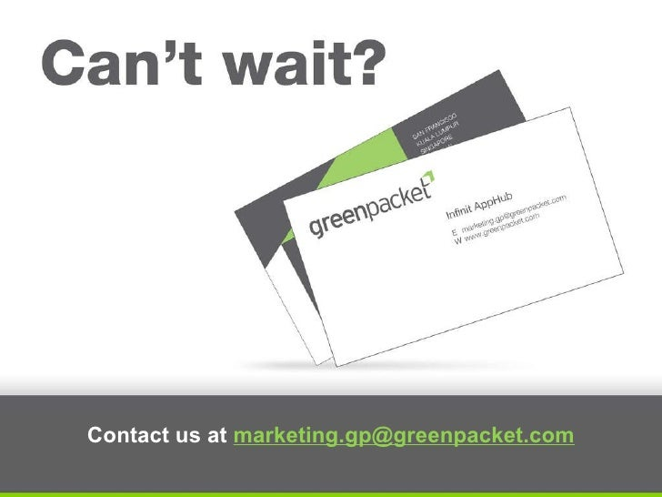 Contact us at  [email_address]