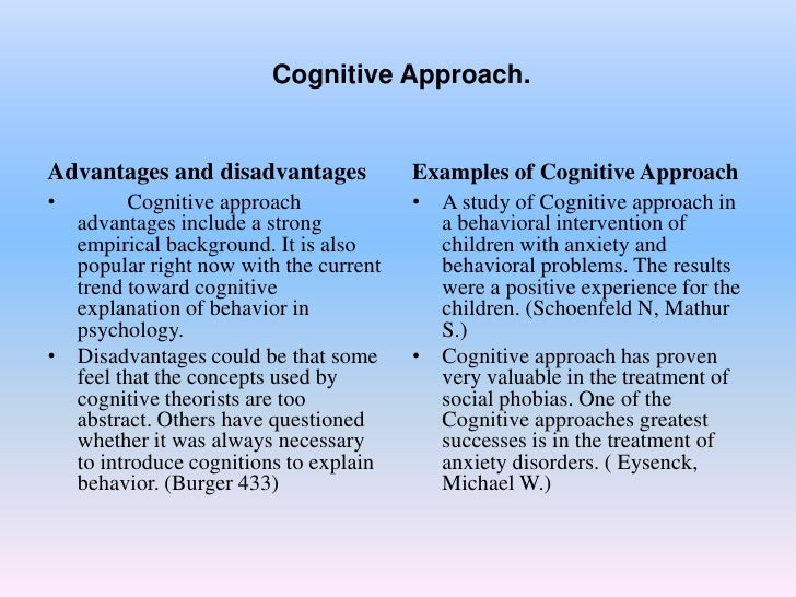 behavioural and cognitive psychological perspective Behaviorism & education early psychology (the use of nonobjective methods such as introspection) early cognitive perspectives (eg, piaget, vygotsky.