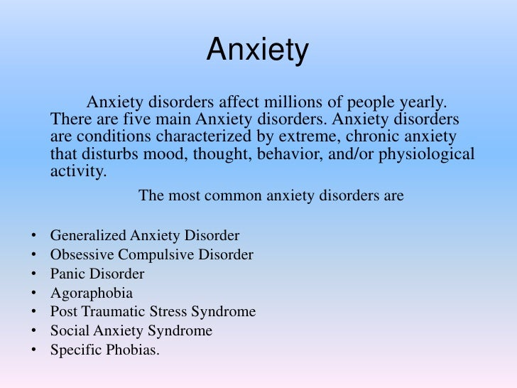 how anxiety and panic attacks affect A sudden attack of fear and feelings of anticipated disaster is what is known as anxiety attack, also known as panic attack a person suffering an anxiety attack disorder suffers an unexpected attack, which is followed by more such attacks.