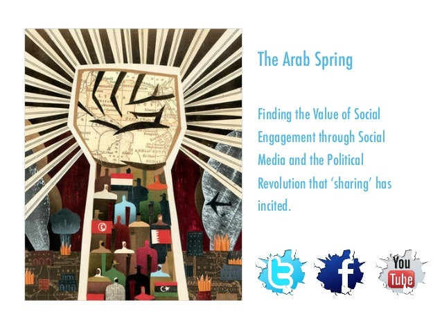 The Arab Spring Finding the Value of Social Engagement through Social Media and the Political Revolution that 'sharing' ha...
