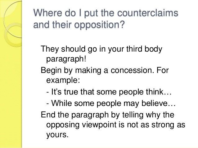 example of debate essay