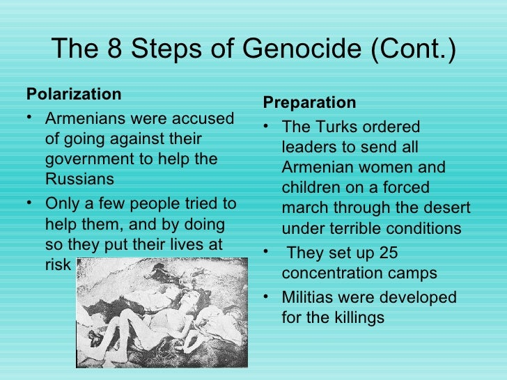 Essays about the armenian genocide