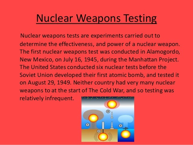 the cold war nuclear weapons of The cold war the first russian atomic bomb the seeds of hostility between the  united states and the ussr began near the end of world war i the.