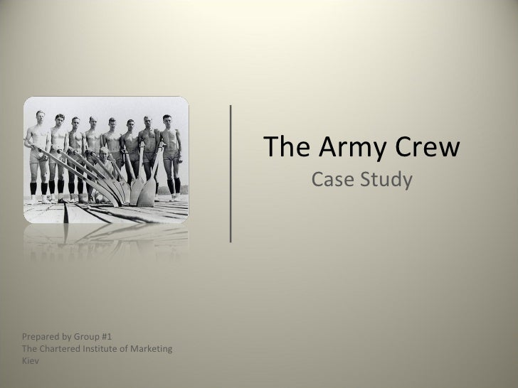 case study crew team Army crew team case study - team building - leadership essay example team submission: bad jazz jane blatz zachary brado adam medwetsky david cooper burhan saiyed tian wang case study: the army crew team reason: why does the varsity team lose to the jv team.