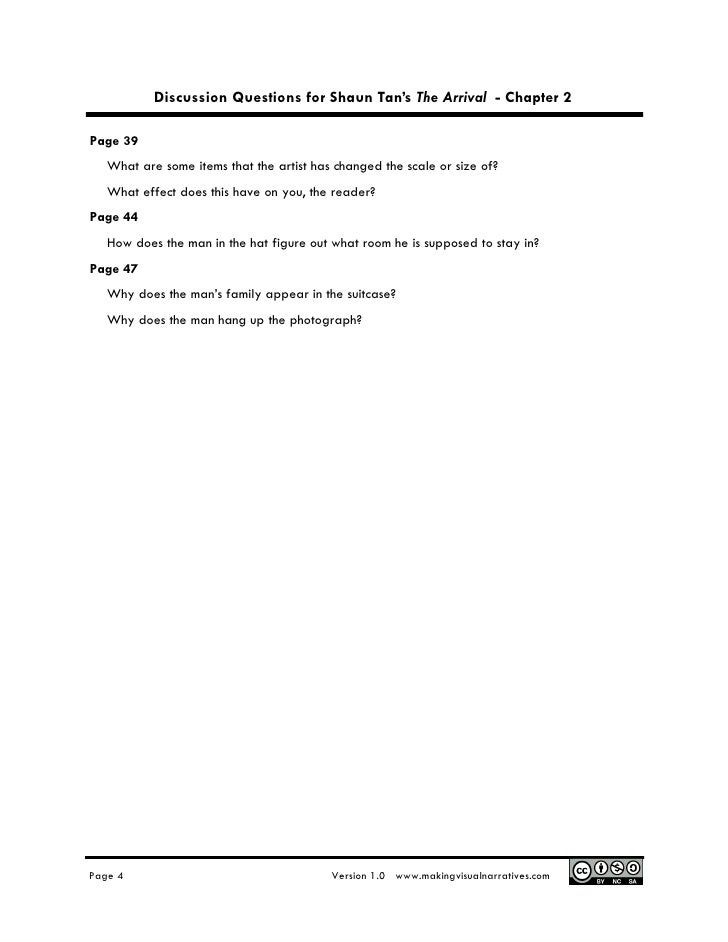 discussion question chapter 1 Page-by-page/chapter discussion questions the other wes moore: one name, two fates (wes moore) new york, spiegel & grau (2010) discussion questions.