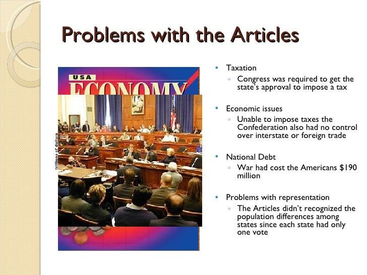 The articles of confederation 7 problems with the articles publicscrutiny Choice Image