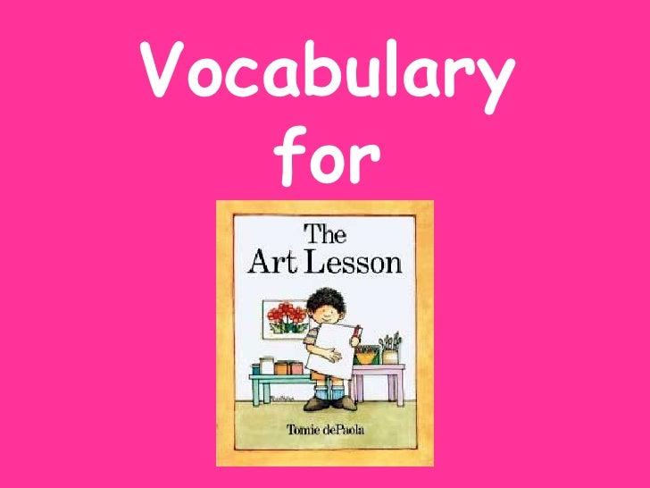 Vocabulary   for