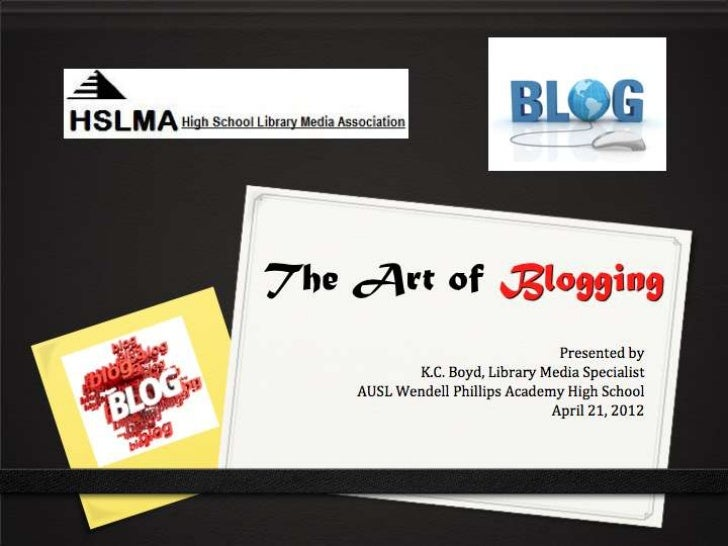 Positive Outcomes of Blogging- Viewed as a valuable/resourceful member of theschool.- Share my opinion with others- Sharpe...
