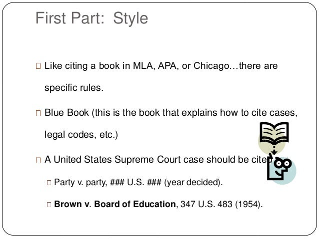 The art ofcasebriefing1 holding 4 first part style like citing a book ccuart Image collections