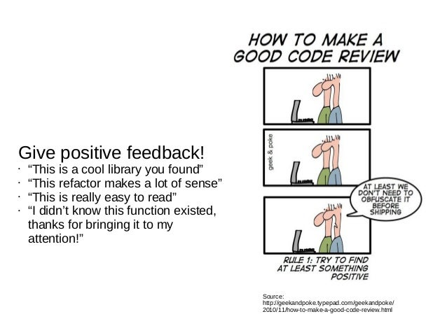 The Art of Giving and Receiving Code Reviews