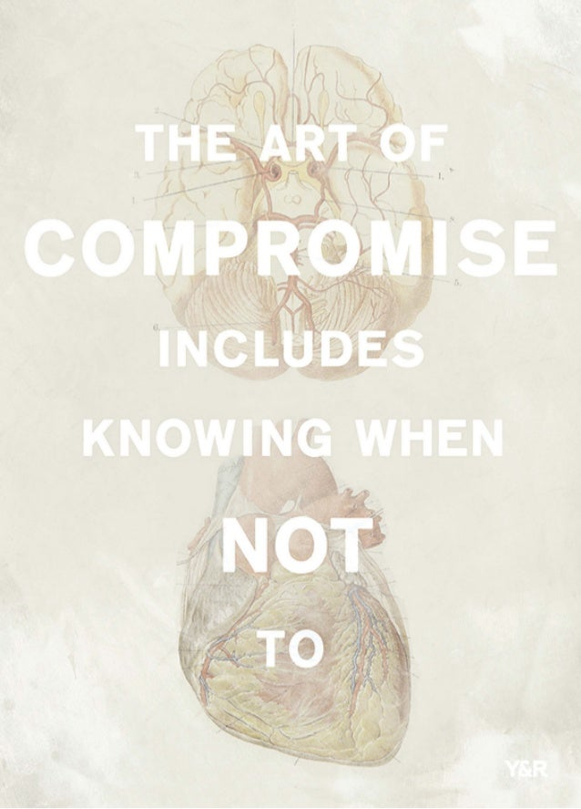 The art of compromise