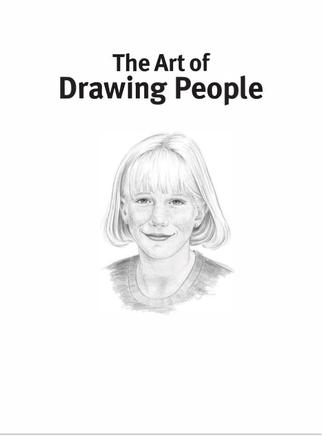 The art of drawing people Slide 3