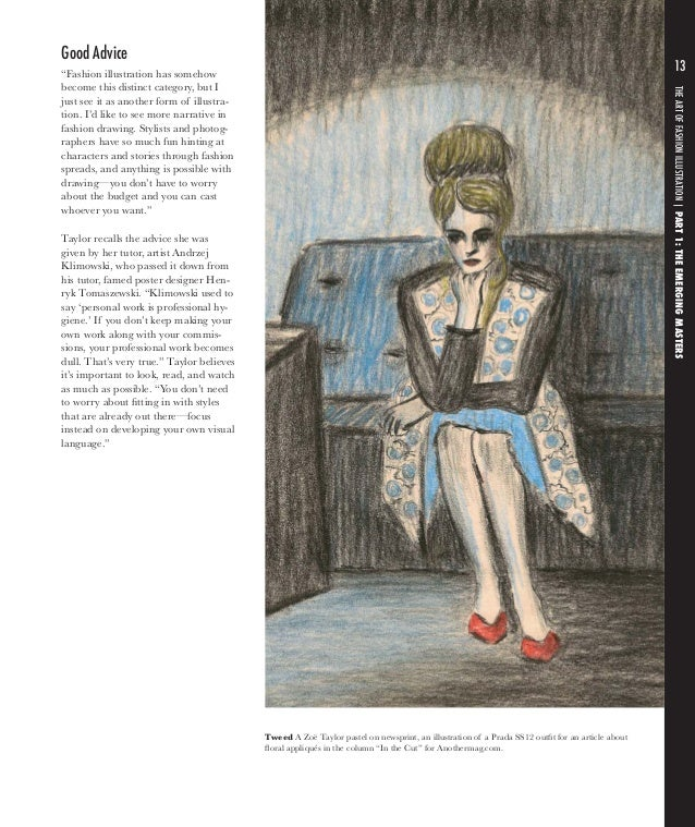 Advanced Fashion Drawing Lifestyle Illustration Pdf