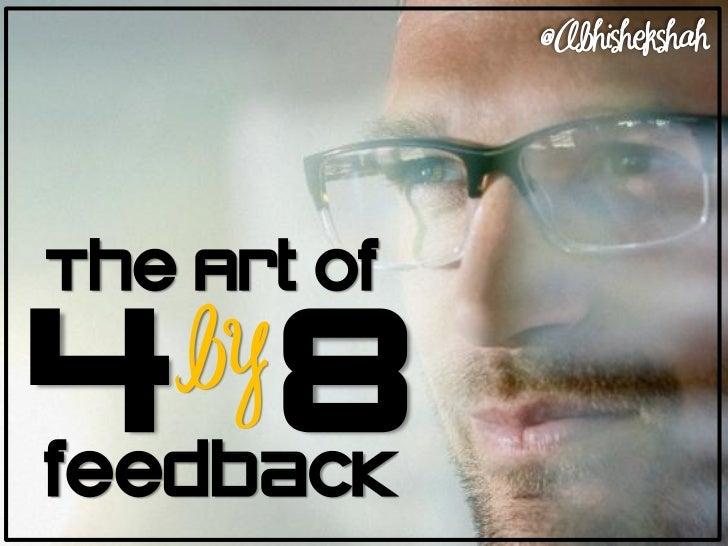 The Art of Feedback
