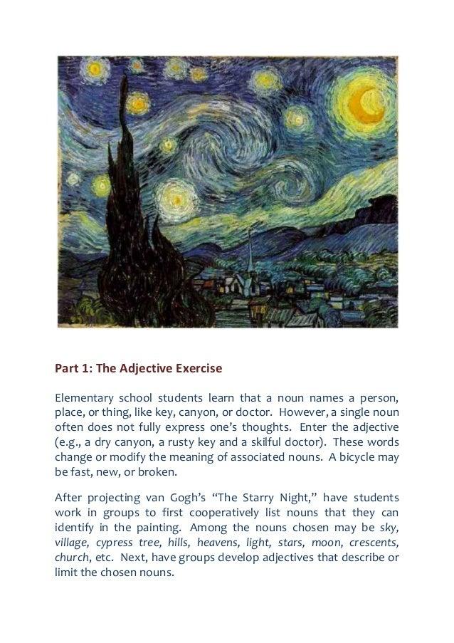 describe starry night