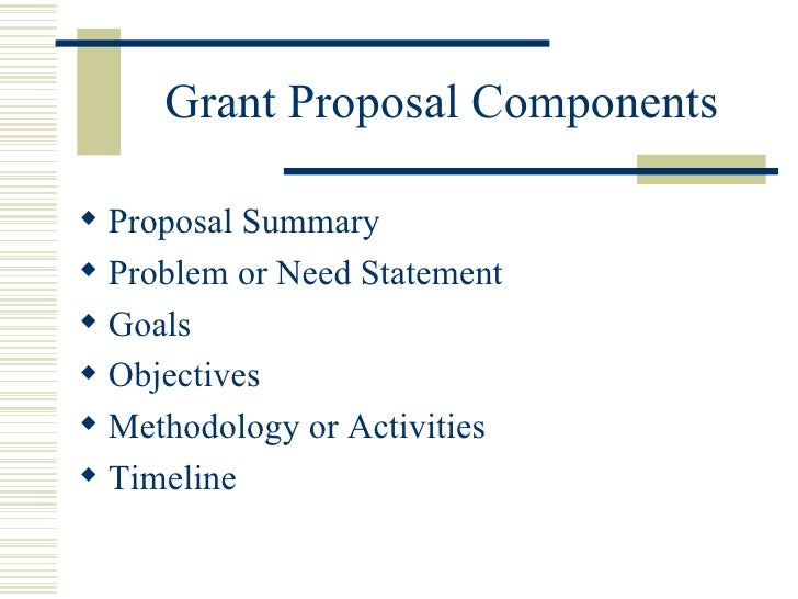 writing aims and objectives for a proposal