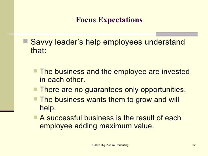 employer expectations Do you lack the tools & resources to do your job effectively a guide to help you overcome the gap between employee needs and employer expectations.