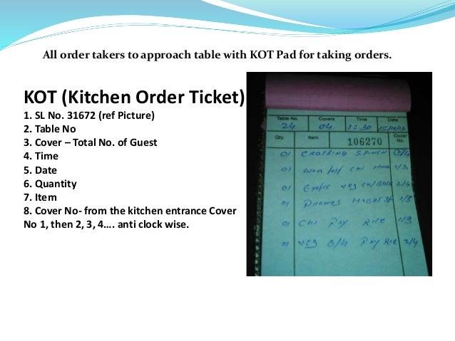 The Art Of Order Taking