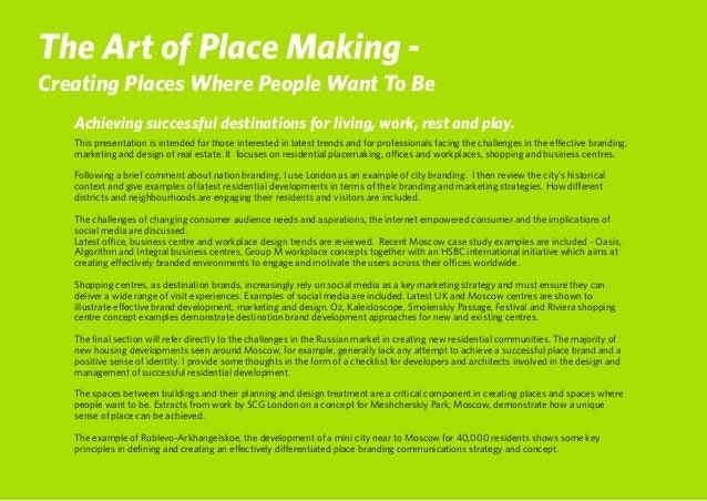 The Art of Place Branding  Slide 2