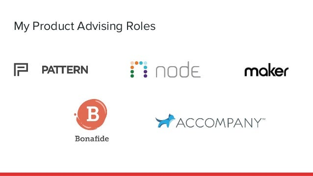 My Product Advising Roles