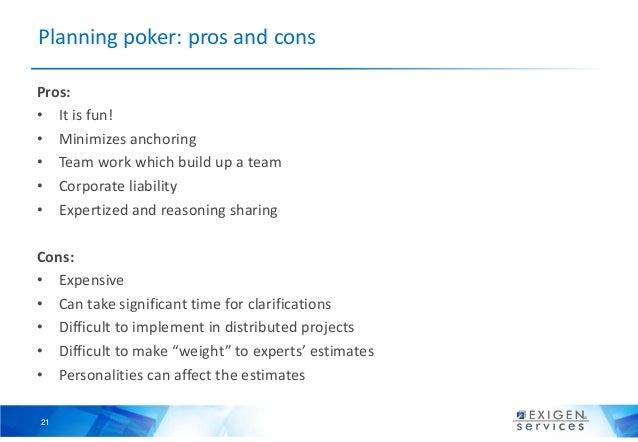 Planning poker estimation template - Xmas poker club