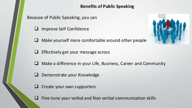 importance of public speaking skills