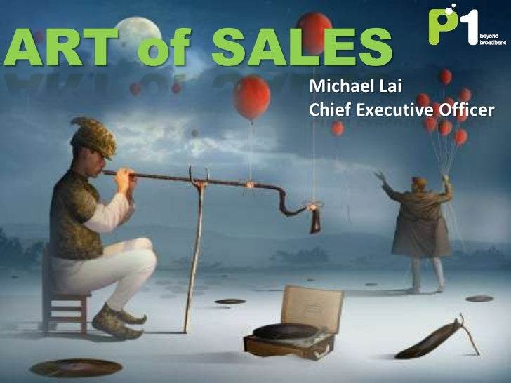 ART of SALES         Michael Lai         Chief Executive Officer