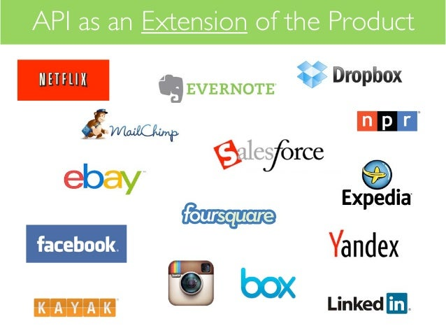 API as an Extension of the Product