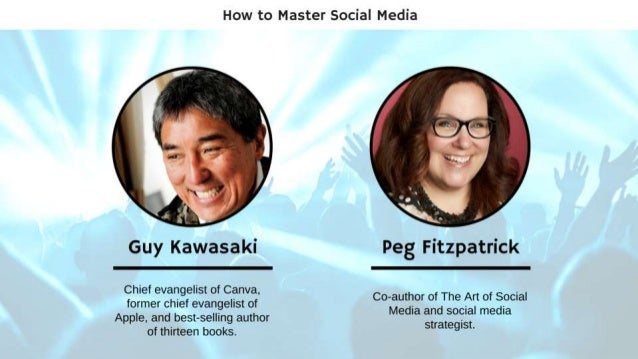 @GuyKawasaki and @PegFitzpatrick 3