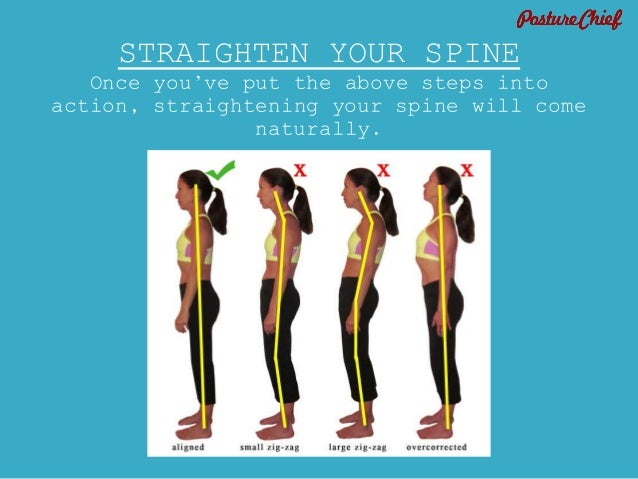 how to train your back posture