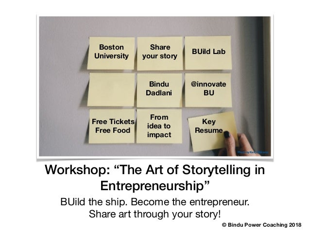 BUild the ship. Become the entrepreneur.  Share art through your story! Photo by Kelly Sikkema © Bindu Power Coaching 2018...
