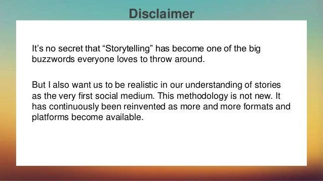 The Art of Effective Storytelling Slide 3