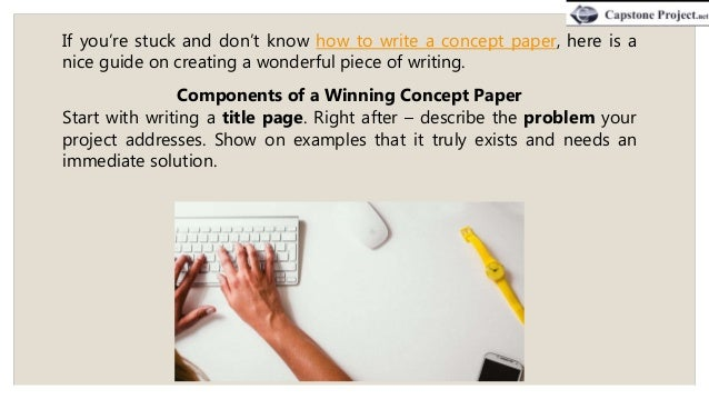 How To Write A Concept For An Art Project