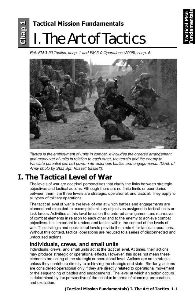 The art of tactics