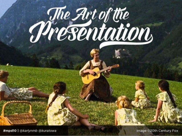 The Art of the Presentation Slide 2