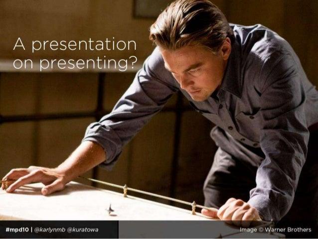 The Art of the Presentation Slide 3