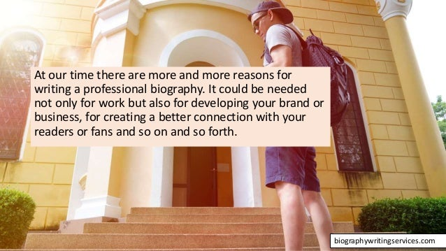 The Art of Writing Biographies Slide 2