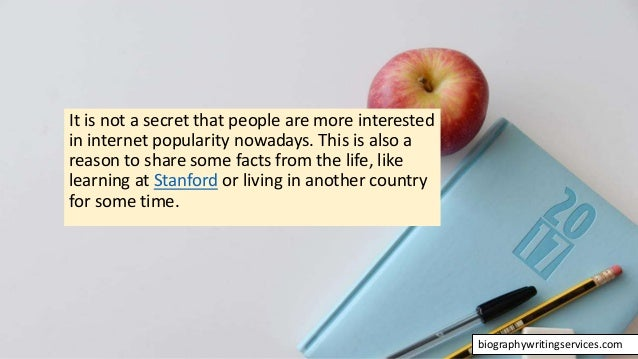 The Art of Writing Biographies Slide 3