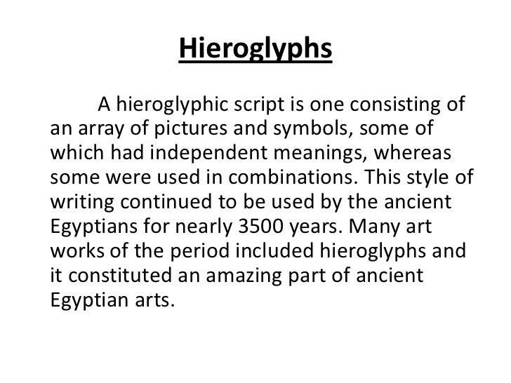 The Arts And Culture Of Egypt
