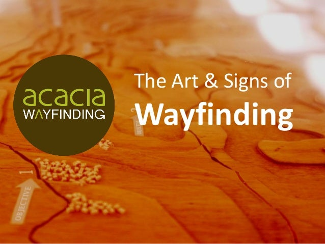 The Art & Signs of Wayfinding