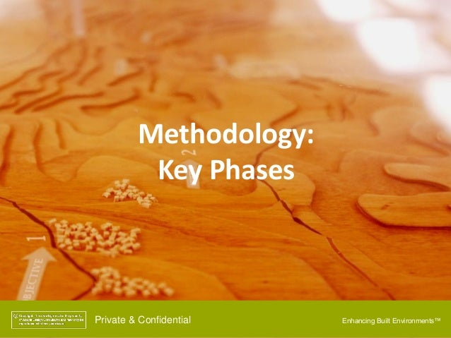 Enhancing Built Environments™Private & Confidential Methodology: Key Phases