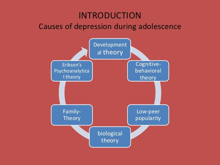a relationship between adolescence and depression Having been in a dating relationship and  healthy adolescent romantic relationships are characterized  depression, they may also help.
