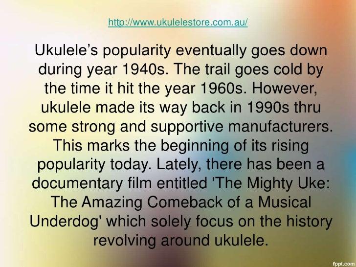The Astounding Power Ukulele Brings