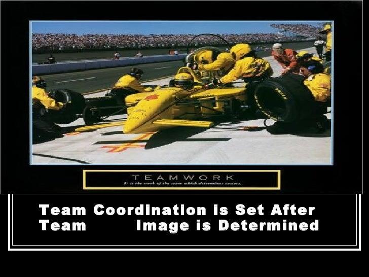 <ul><li>Team Coordination is Set After Team  Image is Determined </li></ul>