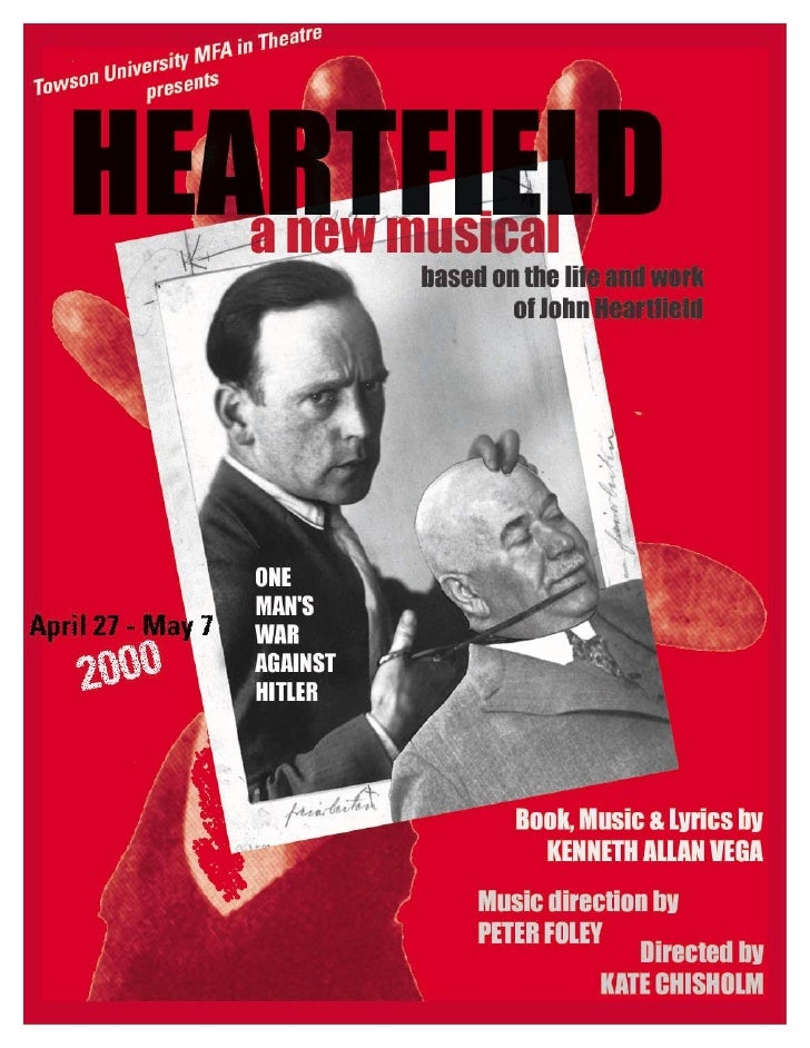 Theater Poster - Heartfield