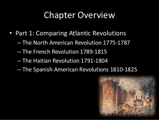 Comparing the haitian to the french revolution essay